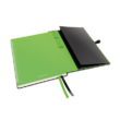 Jegyzetfüzet LEITZ Complete A/5 80 lapos sima fekete