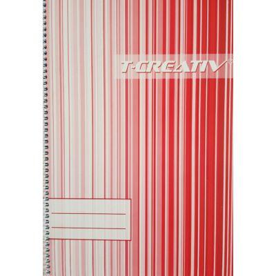 Spirálfüzet T-Creativ A/4 60 lapos, négyzetrácsos