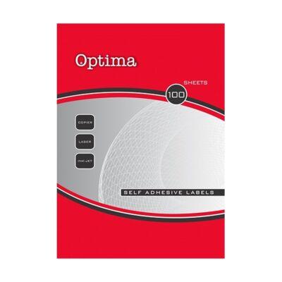 Etikett OPTIMA 32102 105x70mm 800 címke/doboz 100 ív/doboz