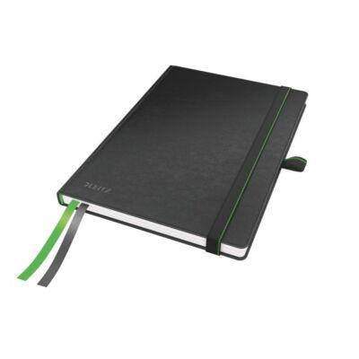 Jegyzetfüzet LEITZ Complete A/5 80 lapos vonalas fekete