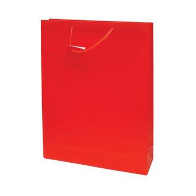 Ajándéktasak Special Simple J 33x46x10 piros