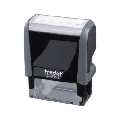 Bélyegző TRODAT Printy 4.0 4912 eco-szürke ház fekete párna