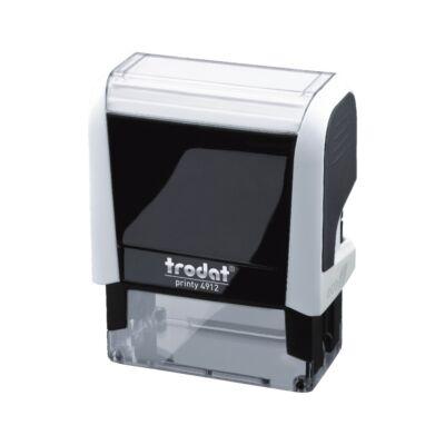 Bélyegző TRODAT Printy 4.0 4912 fehér ház fekete párna