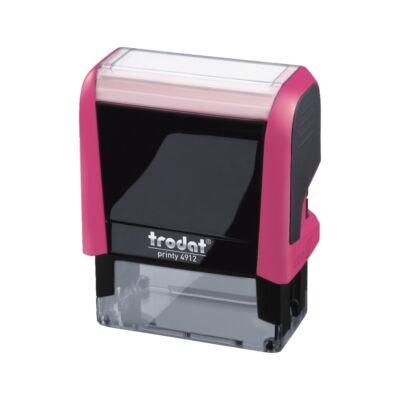 Bélyegző TRODAT Printy 4.0 4912 pink ház fekete párna