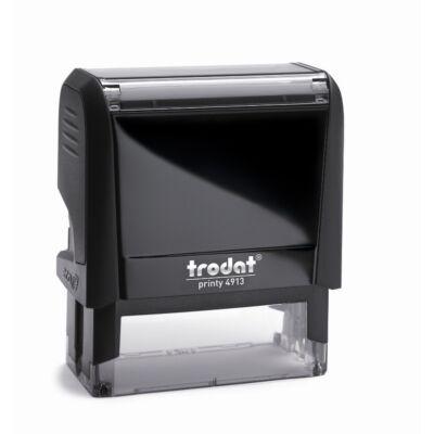 Bélyegző TRODAT Printy 4.0 4913 eco-fekete ház fekete párna