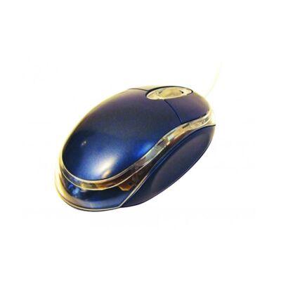 Egér optikai SILVERLINE OM-290 USB kék