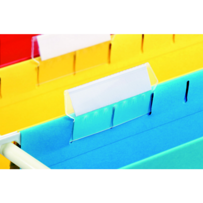 Függőmappa cserecímketartó ESSELTE Classic papírral 25 db/csomag