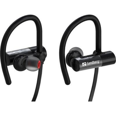 Fülhallgató Sandberg vezeték nélküli fekete bluetooth