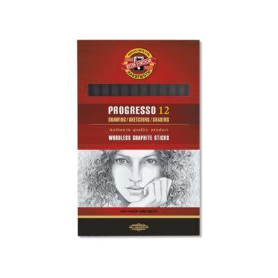 Grafitceruza KOH-I-NOOR 8911 Progresso 4B hengeres