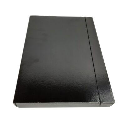 Gumis mappa FORTUNA 30 mm fekete