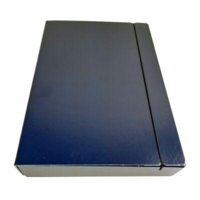 Gumis mappa FORTUNA 50 mm kék