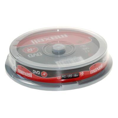 ÍRHATÓ DVD-R MAXELL 4,7GB 10DB/HENGER
