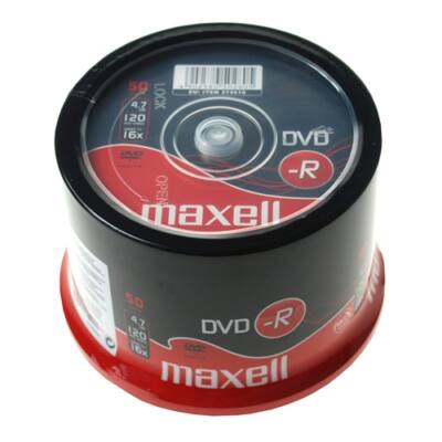 ÍRHATÓ DVD-R MAXELL 4,7GB 50 db/HENGER