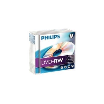 ÍRHATÓ DVD-R PHILIPS 4,7GB 16X SLIM TOK