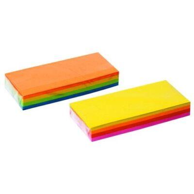 Pincérblokk FORTUNA 6,5x14 cm ragasztott színes