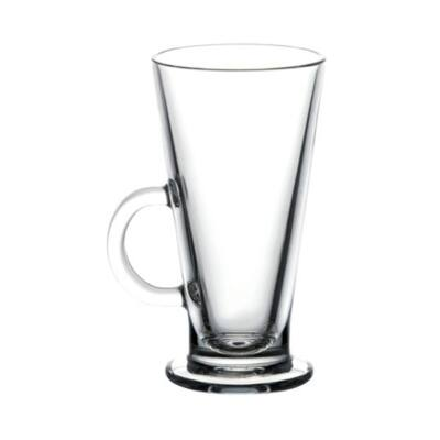 Pohár készlet caffe latte PASABAHCE Colombian üveg 260 ml 6 db/dob