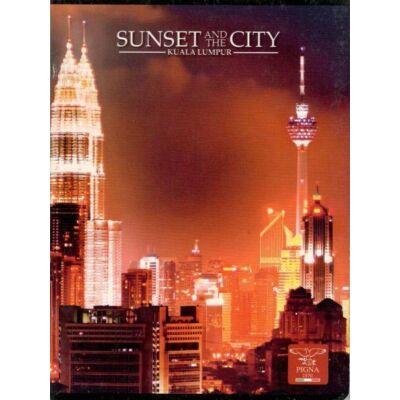 FÜZET A/5  27-32 SUNSET CITY