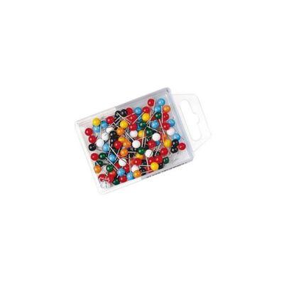 Táblatű WEDO gömbfejű színes 100 db/doboz